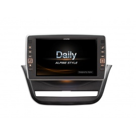 Autorádio Alpine X902D-ID pro vozy Iveco Daily od r. v. 2014 bez OEM navigace