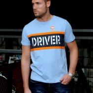 Pánské tričko Driver bledě modré, vel. XL