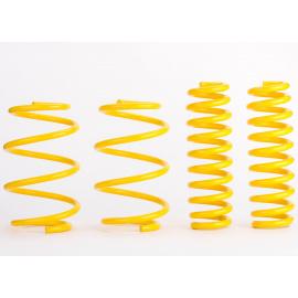 Sportovní pružiny ST suspensions pro Seat Leon (5F), Hatchback, r.v. od 10/12, 1.8TSi/1.6TDi, jednoprvková ZN, snížení 40/40mm