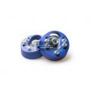 Nastavitelné horní uložení Silver Project pro Seat Leon 1M modré