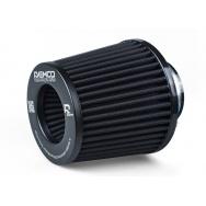 Raemco vzduchový filtr - univerzální, vstup 70mm, černý