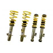 ST suspensions (Weitec) výškově stavitelný podvozek Seat Alhambra; (7N) s náhonem předních kol; průměr uchycení předního tlumiče 55mm, zatížení přední nápravy -1280kg