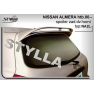 Stylla spoiler zadních dveří Nissan Almera htb (2000 - 2006)