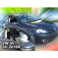 HEKO ofuky oken Volkswagen Golf VI 3dv (2009-2012) přední