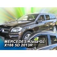 HEKO ofuky oken Mercedes Benz GL X166 5dv (2013-2019) přední + zadní