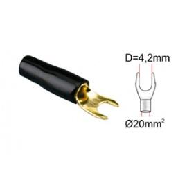 ACV kabelová vidlička 20qmm black