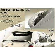 Stylla spoiler zadních dveří Škoda Fabia I (1999 - 2007) - spodní