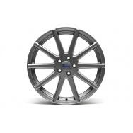 TA Technix XF2 ALU lité kolo konkávní 8,5x19 - šedá Gunmetal, 5x112, 66,6/57,1 ET42