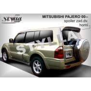 Stylla spoiler zadních dveří Mitsubishi Pajero (V60, 2000-2006) - horní