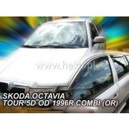 HEKO ofuky oken Škoda Octavia I Combi + Tour (1996-2010) přední + zadní