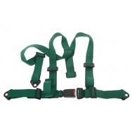 Tříbodové pásy GPX - zelené