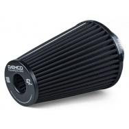 Raemco vzduchový filtr - univerzální, vstup 77mm, délka 200cm, černý