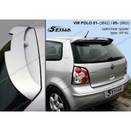 Stylla spoiler zadních dveří VW Polo IV (9N + 9N3) 2002 - 2009
