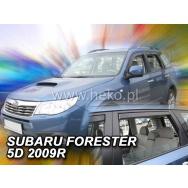HEKO ofuky oken Subaru Forester (2008-2012) přední + zadní