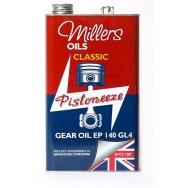 Převodový olej Millers Oils Classic Gear Oil EP 140 GL4, 5L