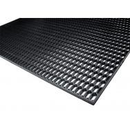 """Mřížka do nárazníku (""""plastový tahokov""""), 120 x 40 cm - malé plástve 15 x 6 mm, černá"""