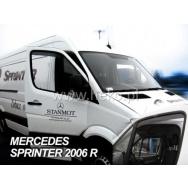 HEKO ofuky oken Mercedes Benz Sprinter 2dv (2006-2018) přední - krátké
