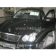 HEKO ofuky oken Mercedes Benz C W203 4dv (2000-2007) přední