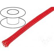 Flexo oplet 4 mm červený