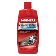 Mothers PowerPlastic 4Lights - leštěnka na světla a čiré plasty, 236 ml
