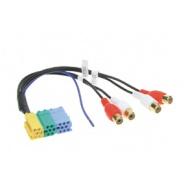 Signálový výstup mini ISO -> RCA