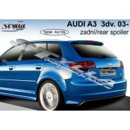 Stylla spoiler zadních dveří Audi A3 5dv (8P, 2004 - 2012) horní