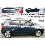 Stylla spoiler zadních dveří Škoda Fabia II (2007 - 2015) - spodní
