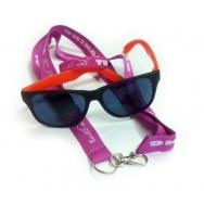 Revilo set - brýle, růžový náramek a šňůra