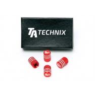 TA Technix čepičky ventilků TAir - červené