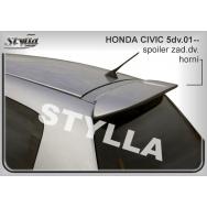 Stylla spoiler zadních dveří Honda Civic 5dv (2001 - 2005) - horní