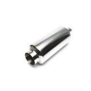 TA Technix sportovní nerezový tlumič výfuku - kulatá koncovka, 115/65mm