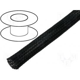 Flexo oplet 25 mm černý