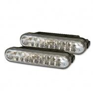 LED světla PIRANHA pro denní svícení s homologací ECE R87, šířka 120mm
