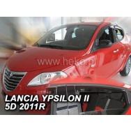 HEKO ofuky oken Lancia Ypsilon 5dv (2011-) přední + zadní
