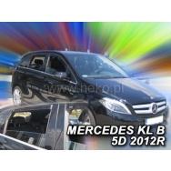 HEKO ofuky oken Mercedes Benz B W246 5dv (2011-2018) přední + zadní