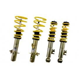 ST suspensions (Weitec) výškově stavitelný podvozek Seat Leon; (1P) průměr uchycení předního tlumiče 50mm, zatížení přední nápravy -1035kg