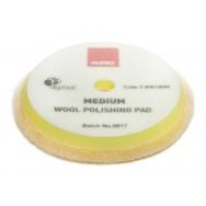 """RUPES Yellow Wool Polishing Pad MEDIUM - vlněný lešticí kotouč (střední) pro orbitální leštičky, průměr 150/180 mm (6""""/7"""")"""