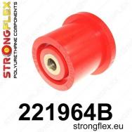 Strongflex sportovní silentbloky Audi A6 4B/C5 98-05 s pohonem předních kol, silentblok zadní nápravy