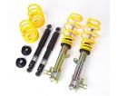 ST suspensions (Weitec) výškově a tuhostně stavitelný podvozek VW Golf III / Vento; (1HX0,1H,1EX0,1E) TDI, 16V, VR6, hatchback, Cabrio, zatížení přední nápravy 891-980kg