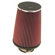 K&N RC-5106 sportovní vzduchový filtr - univerzální, průměr vstupu 76 mm