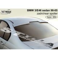 Stylla spoiler horní na zadní sklo BMW E46 sedan