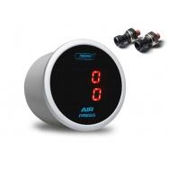 PROSPORT duální digitální ukazatel tlaku vzduchu s červeným podsvícením (kompaktní elektr. čidla)