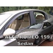 HEKO ofuky oken Alfa Romeo 159 přední + zadní (sedan)