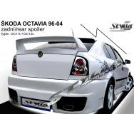 Stylla spoiler zadních dveří Škoda Octavia I htb (1996 - 2004), kompletní WRC křídlo se stabilizační lištou