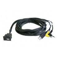 USB+JACK konektor Mitsubishi