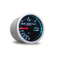 PROSPORT Smoke Lens přídavný ukazatel tlaku turba mechanický -1 až 2bar s kouřovým překrytím