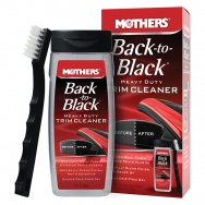 Mothers Back-to-Black Heavy Duty Trim Cleaner Kit - nejúčinnější čistič plastů, 355 ml