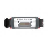 SCANGRIP NIGHT VIEW - čelové světlo s bílým nebo červeným světlem, nabíjecí