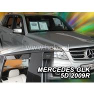HEKO ofuky oken Mercedes Benz GLK X204 5dv (2008-2015) přední + zadní