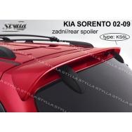 Stylla spoiler zadních dveří Kia Sorento (2002 - 2009) - horní
